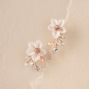 NIB Windflower earrings from BHLDN